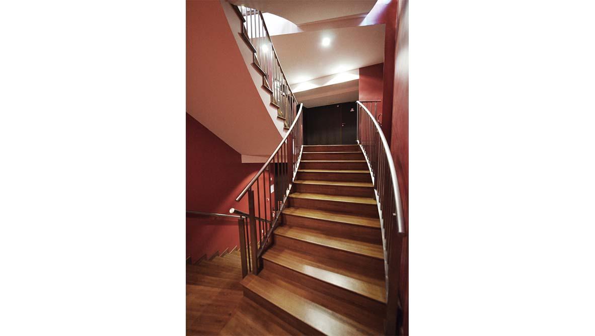 Intérieur escaliers