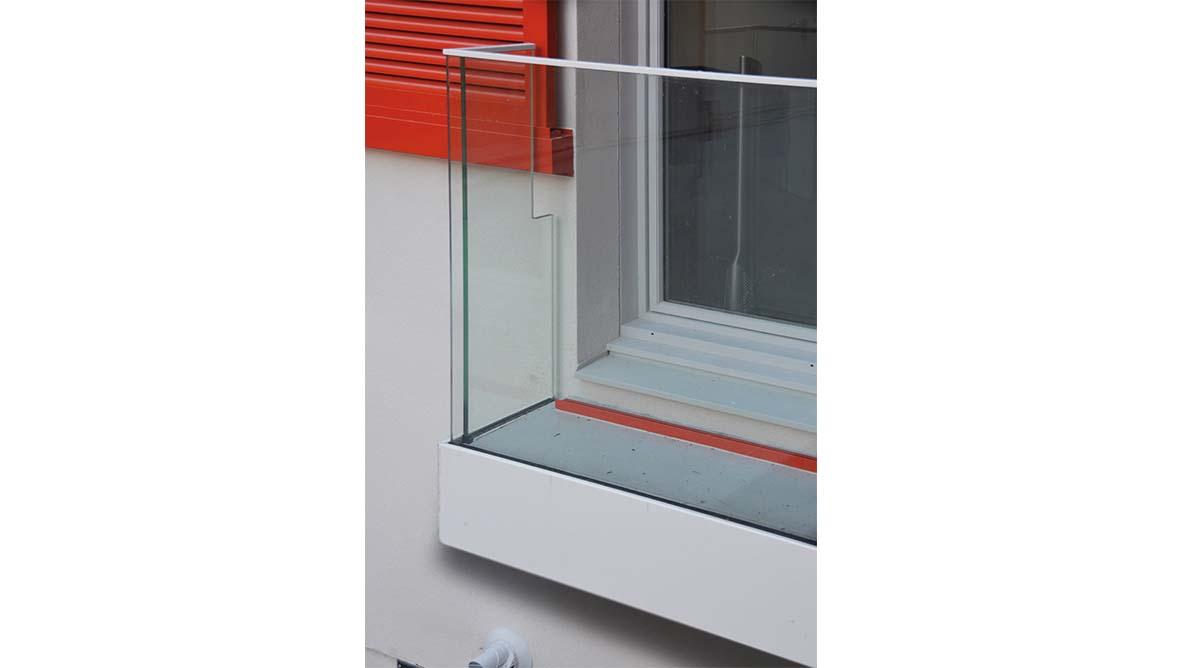 Façade extérieur fenêtre