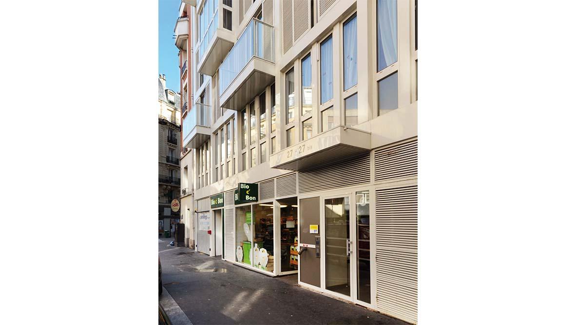 Façade extérieur immeuble coté rue - 2