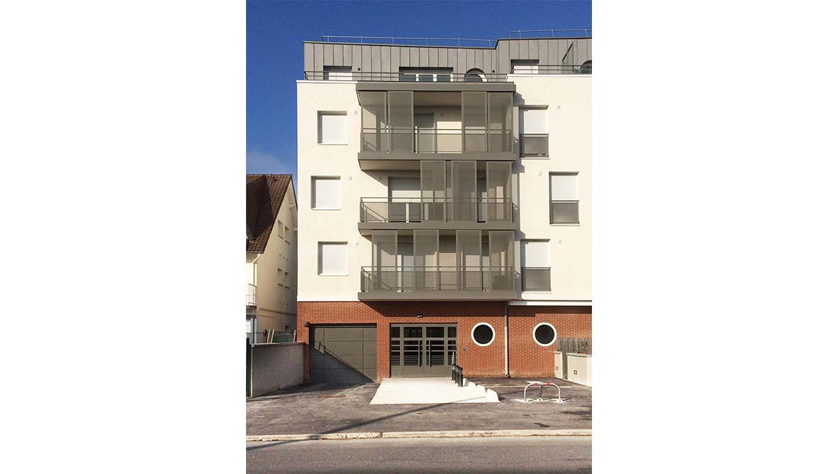 Façade extérieur immeuble - 1