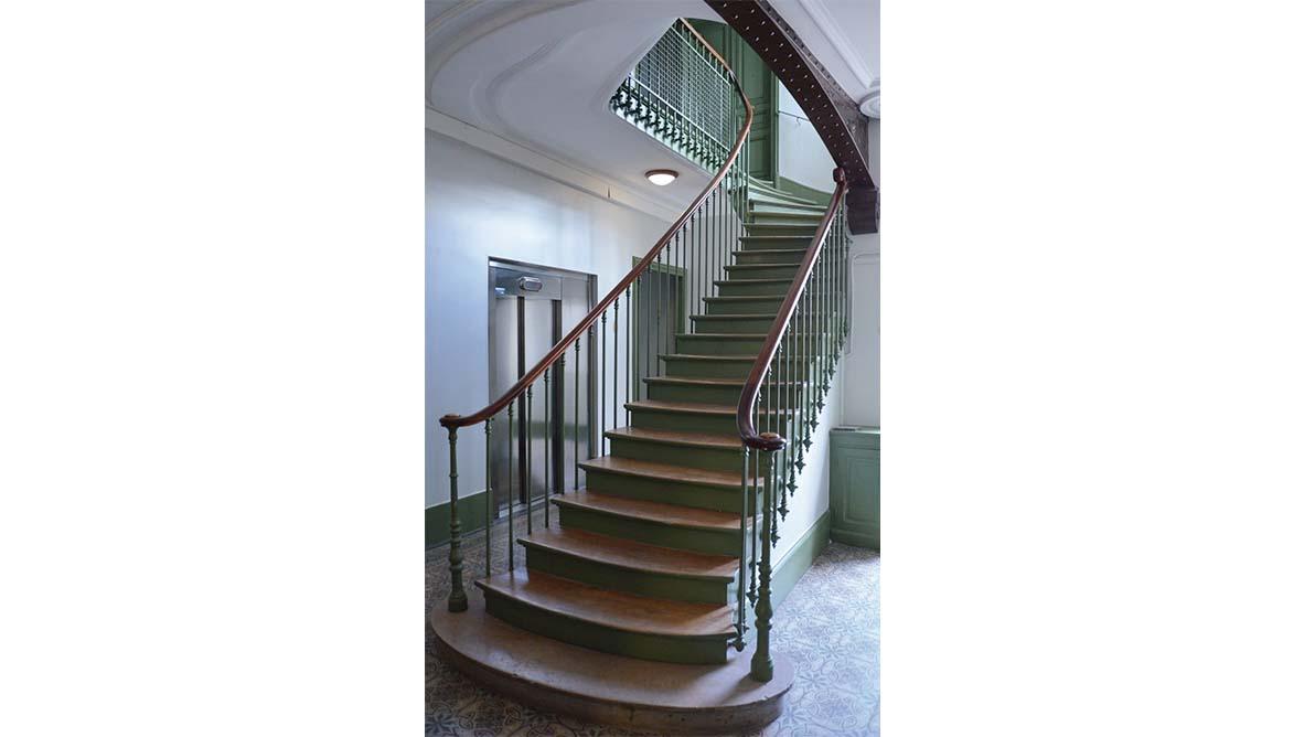 éscalier intérieur