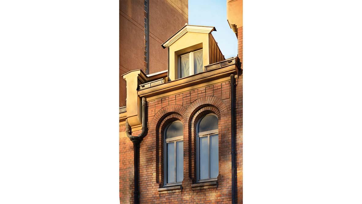 Maison relais Façade extérieur fenêtre