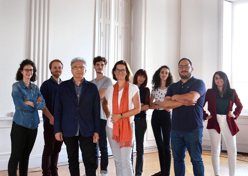 L'équipe d'architectes et assistants d'architectes du cabinet Fernier et Associés