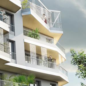 Projet Fernier et Associés résidence ambiance