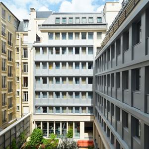 Porjet Fernier et Associés Hôtel Mercure Paris 17 Batignolles